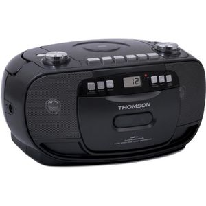 RADIO CD CASSETTE THOMSON RK200CD Radio CD - Lecteur MP3