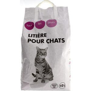 LITIÈRE SILICE - ARGILE TOUS LES JOURS - Litière  - Pour chat - 10L