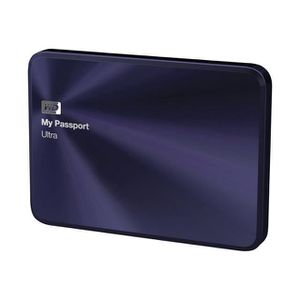 DISQUE DUR EXTERNE WD My Passport Ultra Metal Edition WDBEZW0020BB...