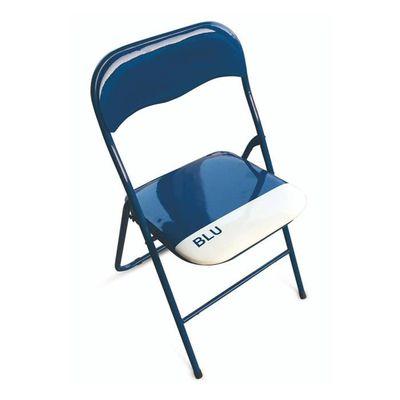 Ensemble PVC chaises de en pliables 6 BLEU A4jqc35RLS