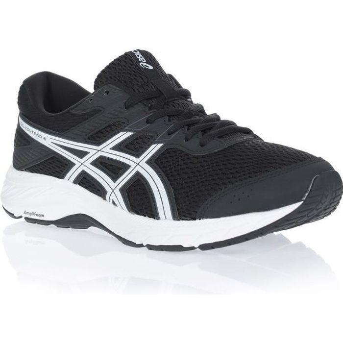 ASICS Chaussures de running GEL CONTEND 6 - Homme - Noir