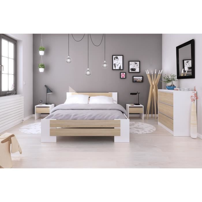 chambre a coucher adulte complete achat vente pas cher. Black Bedroom Furniture Sets. Home Design Ideas