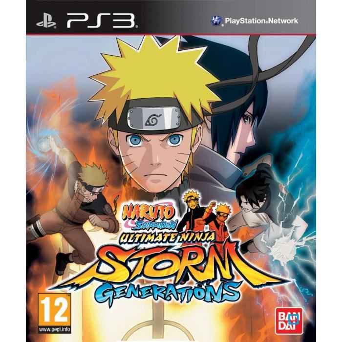 Naruto Shippuden Ultimate Storm Generations Ps3 Achat Vente Jeu Ps3 Naruto Shippuden Ultimate Stor Cdiscount