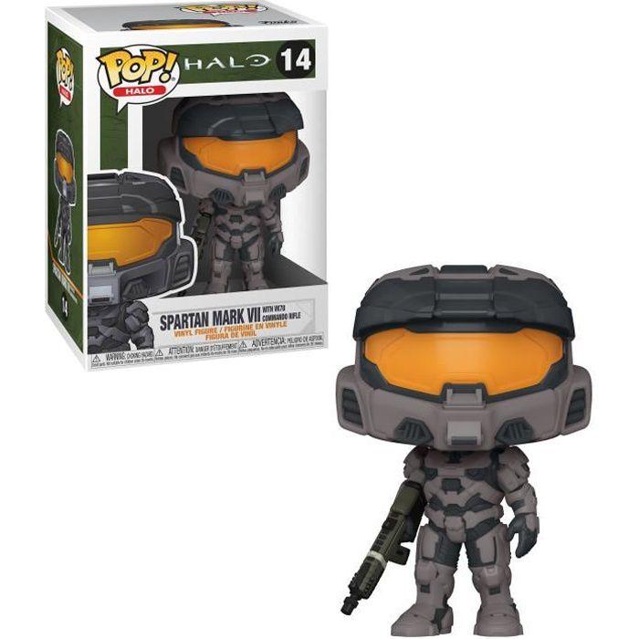 Figurine Funko Pop! Halo : Spartan Mark VII w/ VK78 Commando Riffle - Noir