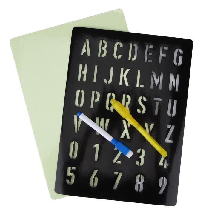 BOYOU Tablette À Dessin Fluorescent / Enfant / Jouet Drôle De Peinture / Éducative Précoce Lumière(Type D)