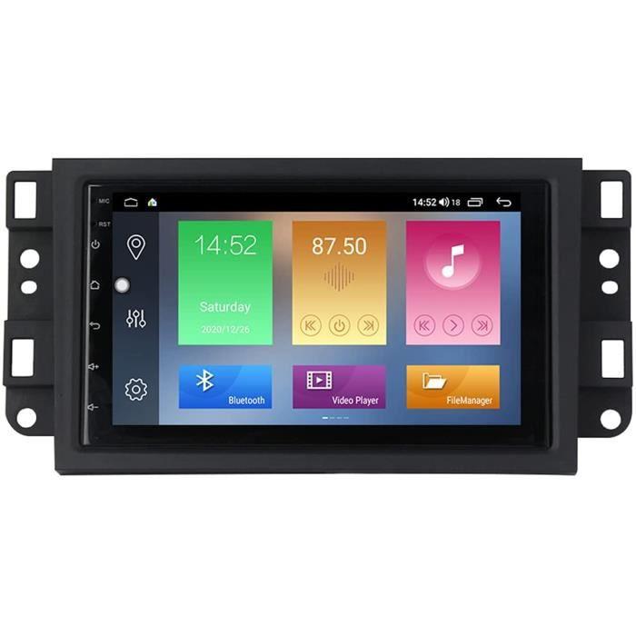 An oid 9 Autoradio Navigation GPS Bluetooth Mains Libres pour Chevrolet Lova Captiva Gentra Aveo Epica 2006-2011 HD &Eacutecran672