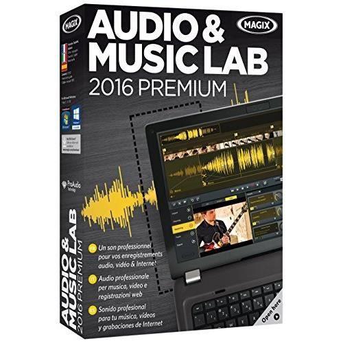 Audio Et Music Lab 2016 Premium Magix A.G.