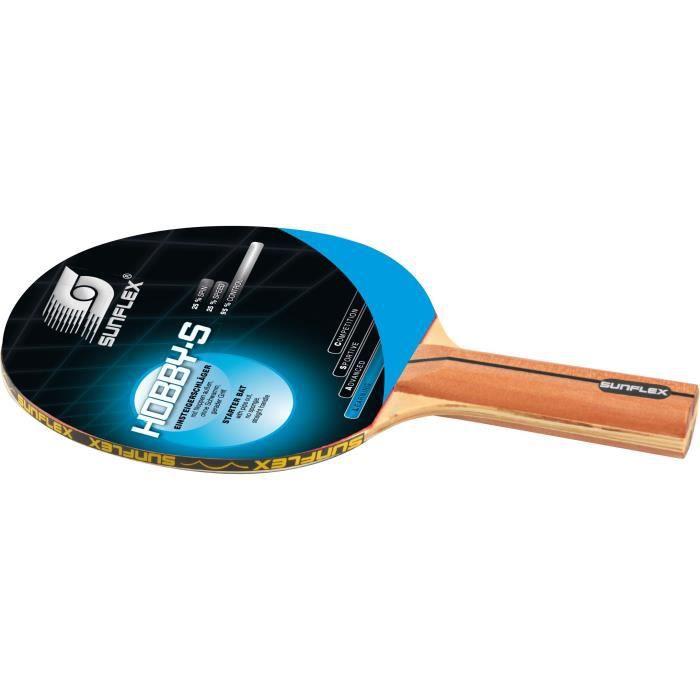 Sunflex Hobby-C Raquette de ping-pong Multicolore