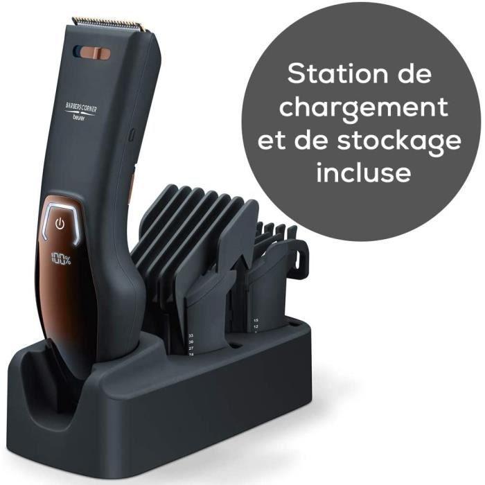 BEURER HR 5000 - Tondeuse à cheveux avec lame en acier inoxydable de haute qualité