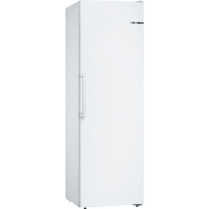 BOSCH GSN36VWFP - Congélateur armoire - 242 L - Froid no frost multiairflow - L 60 x H 186 cm - Blanc