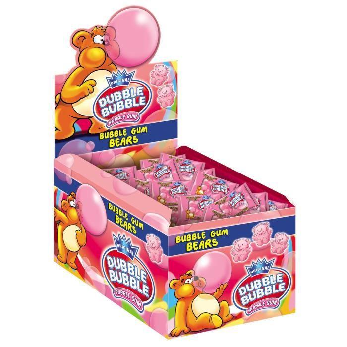 Pack de 150 sachets unitaires Dubble Bubble Bears