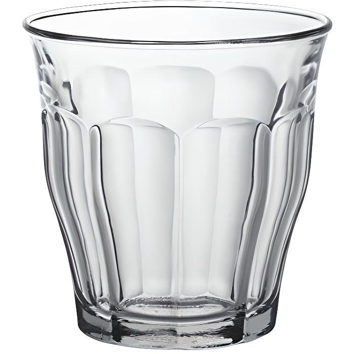Duralex Picardie Lot de 6 verres hauts Transparent 25&nbspcl