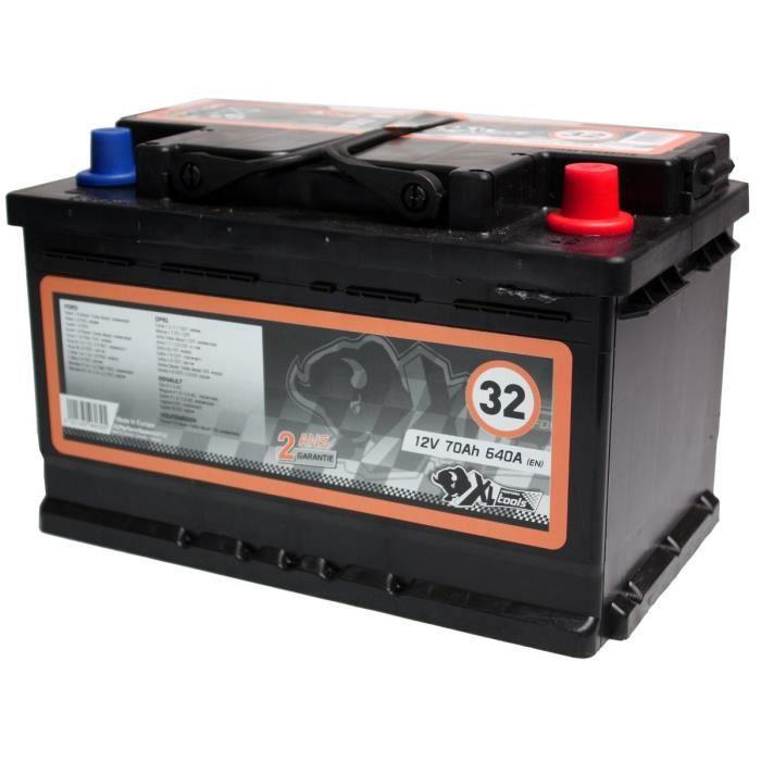 XL PERFORM TOOLS Batterie XL32 640A 70Ah