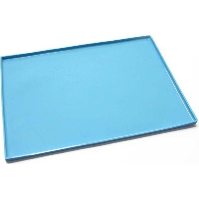 Plaque à génoise en silicone 37x27 cm Bleu