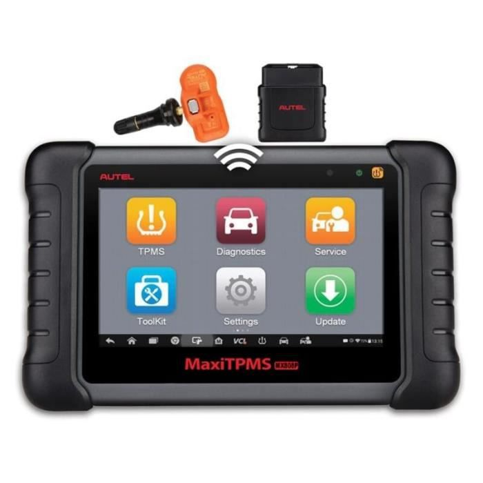 Valise de diagnostic professionelle tablette tactile Autel Maxicom MX808TS TPMS