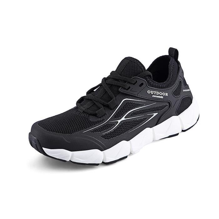CHAUSSURES DE RUNNING - CHAUSSURES D'ATHLETISME Chaussures de course à pied plates pour hommes en loisirs avec chaussures de sport,