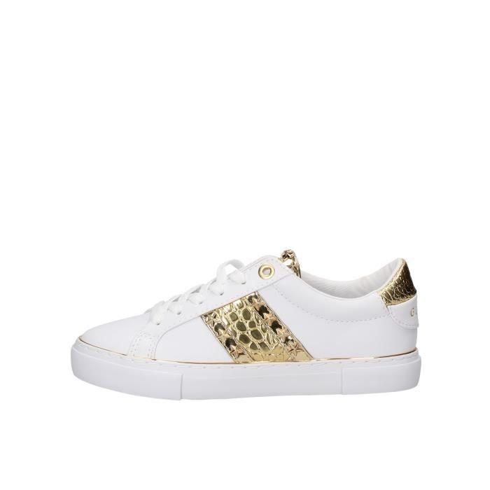 Guess FL5GYZELE12 chaussures de tennis Femme blanc