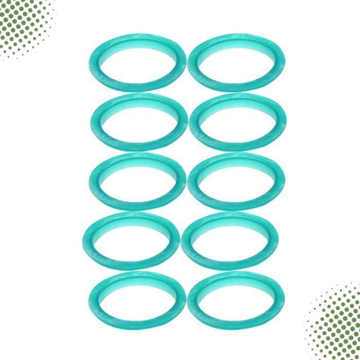 10 pièces anneau d'étanchéité Durable pratique Capsule de café remplacement filtre joint pour la maison CAFETIERE