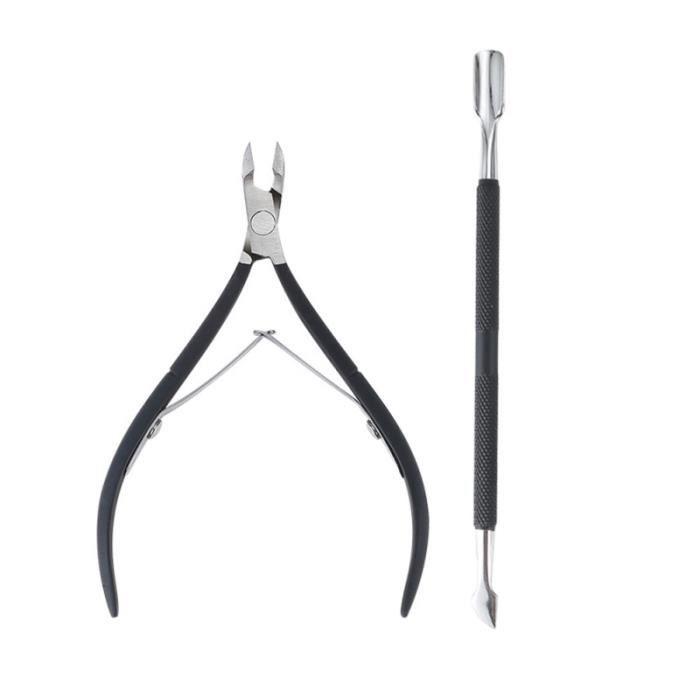 Ciseaux de manucure portables cuticule Nipper outils ciseaux peau morte ongles de pédicure pince COUPE-ONGLES - PINCE A ONGLES