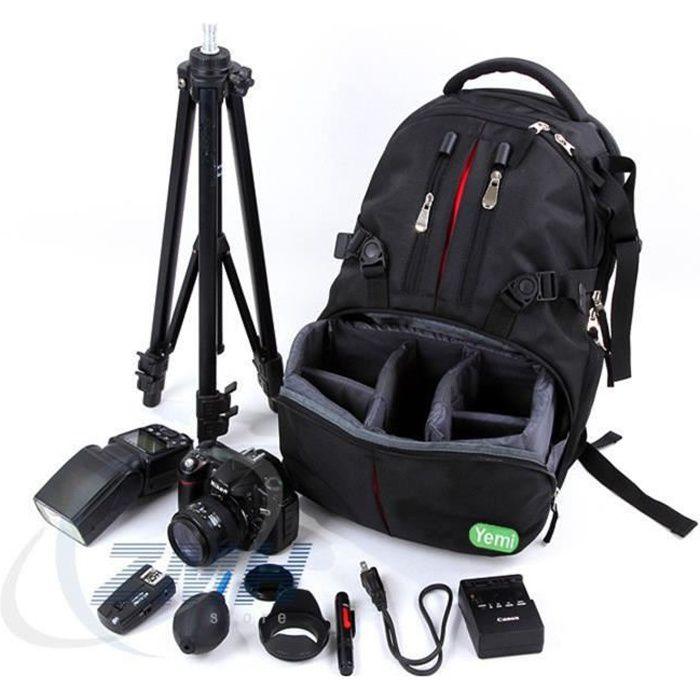 Sac à dos étanche pour photographie, sac pour ordinateur, sac de voyage, sac à dos pour appareil photo reflex
