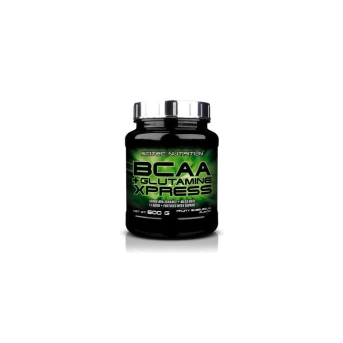 BCAA + Glutamine Xpress Scitec Nutrition 600g Pomme
