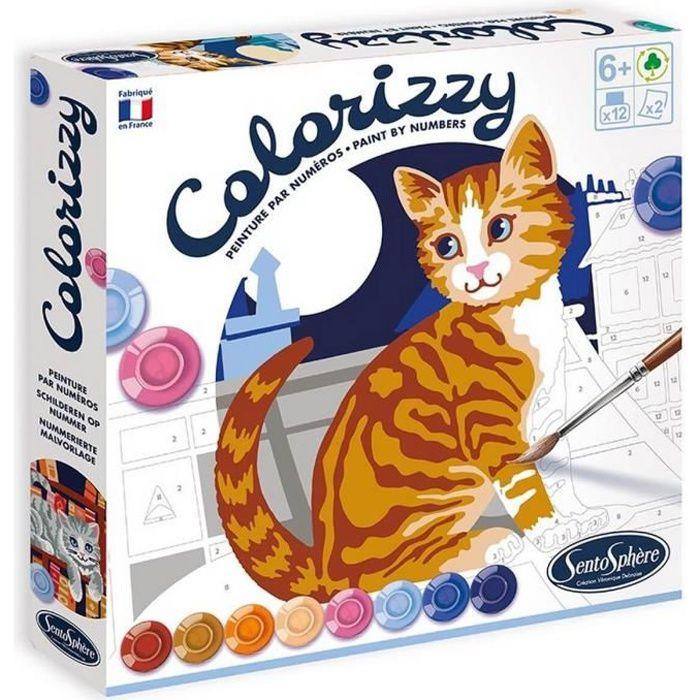 Peinture Colorrizy : Les chats Coloris Unique