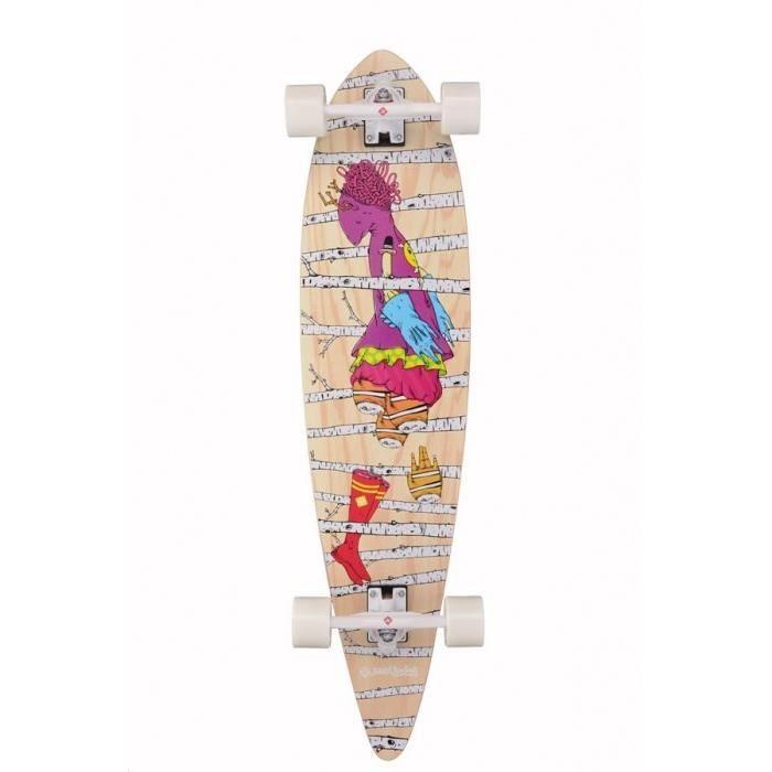 STREET SURFING Longboard Pintail 40- Woods