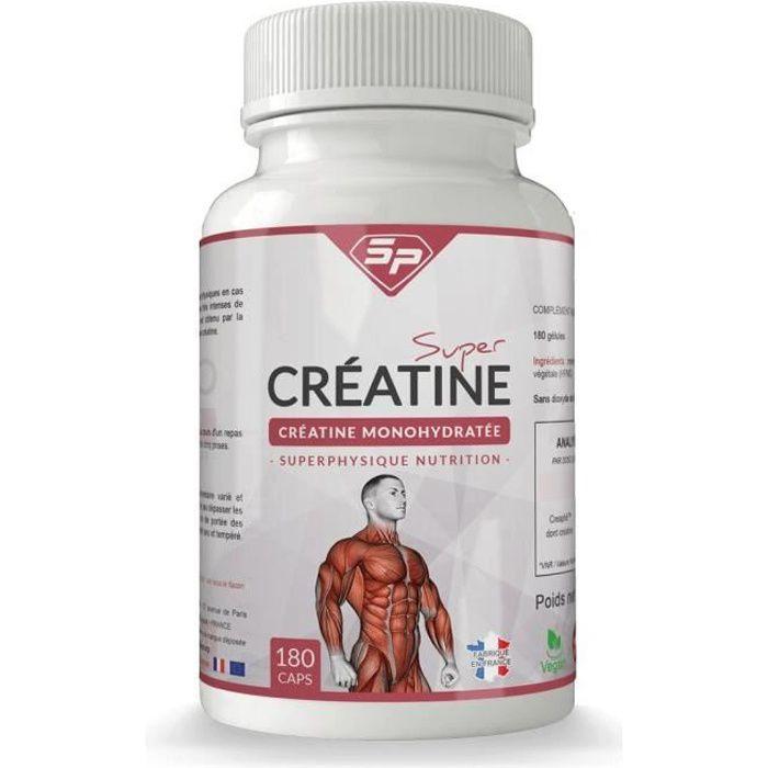 Super Créatine : créatine monohydrate en gélules