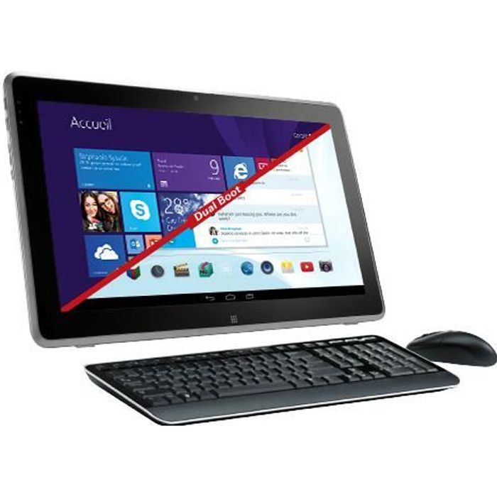 Thomson HYDEO100, 50,8 cm (20-), HD+, Intel® Celeron®, 2 Go, 500 Go, Android 4.4