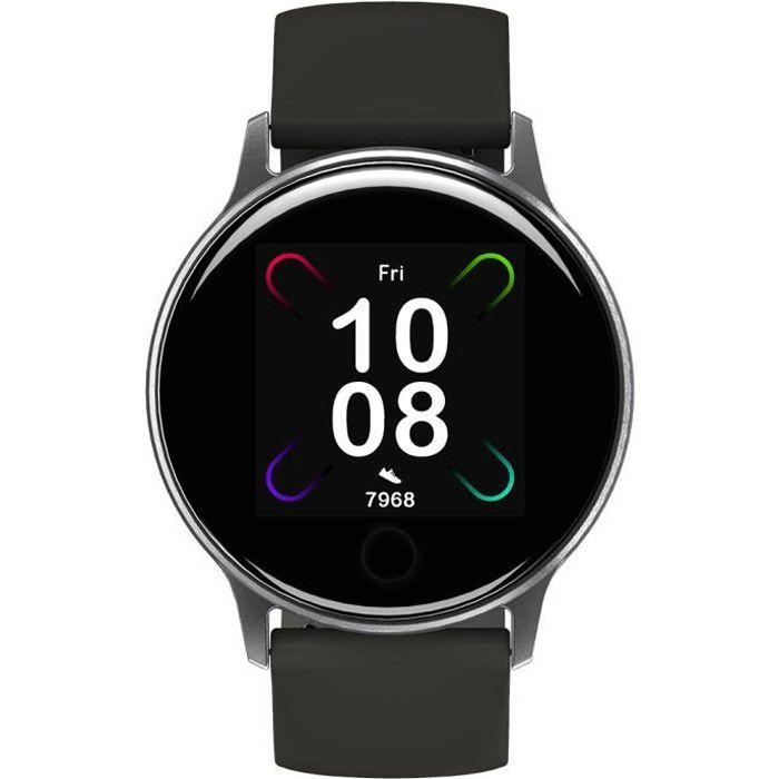 Montre Connectée Homme Femme UMIDIGI Uwatch3 GPS Écran Tactile 1.3 pouces Moniteur de Fréquence Cardiaque pour iOS Android