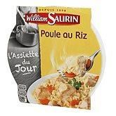 WILLIAM SAURIN Poule au riz assiette micro ondable - 285g