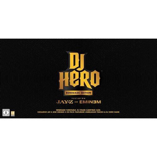 JEUX WII DJ Hero Bundle - Renegade Edition [import allem…
