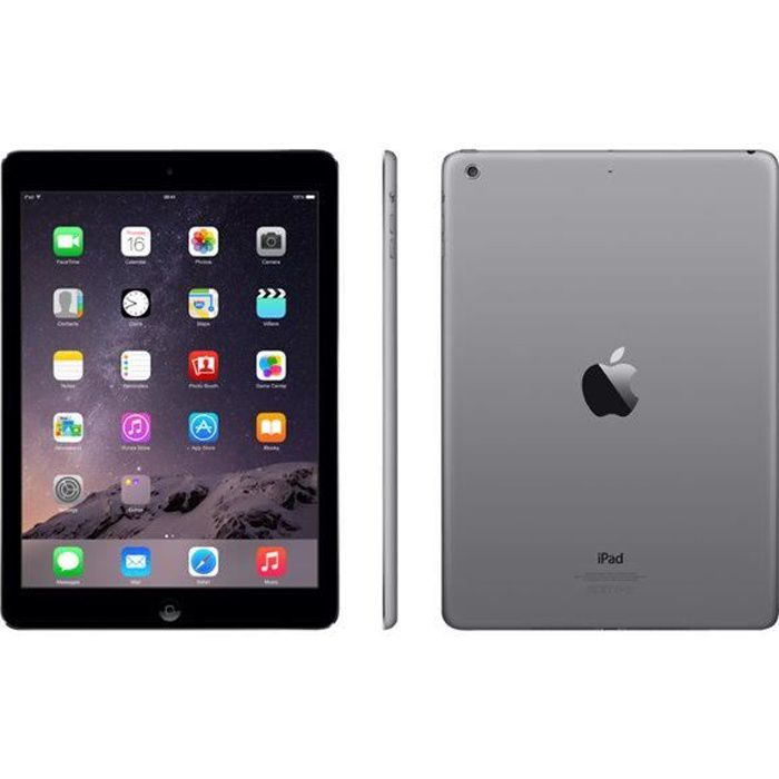 TABLETTE TACTILE APPLE AIR WI-FI 16GB TABLETTE TACTILE 9.7  IOS …