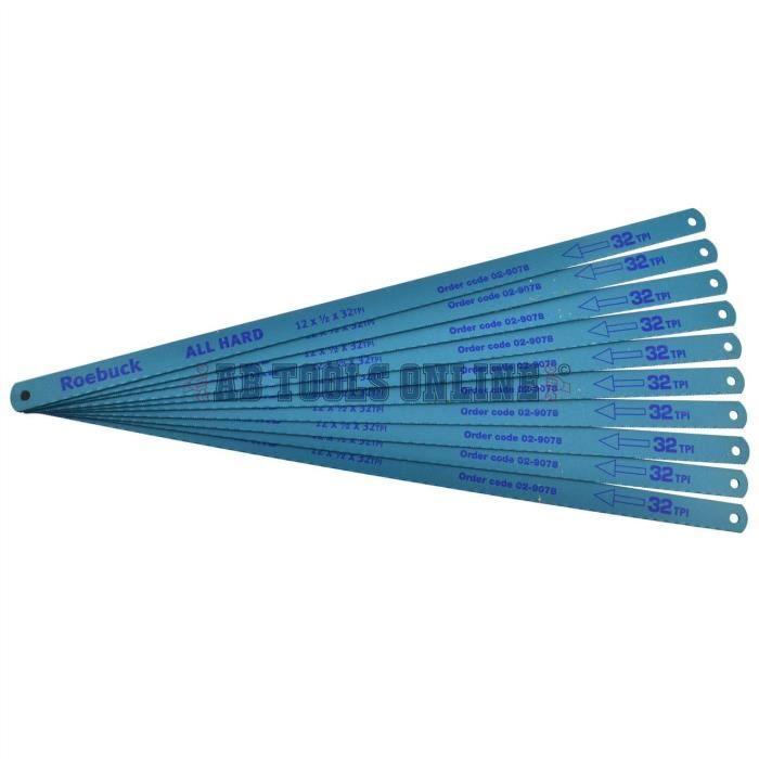 """Pack de Junior Hacksaw lames de remplacement de lame 150mm 6 /""""pouces 1 5 ou 10"""