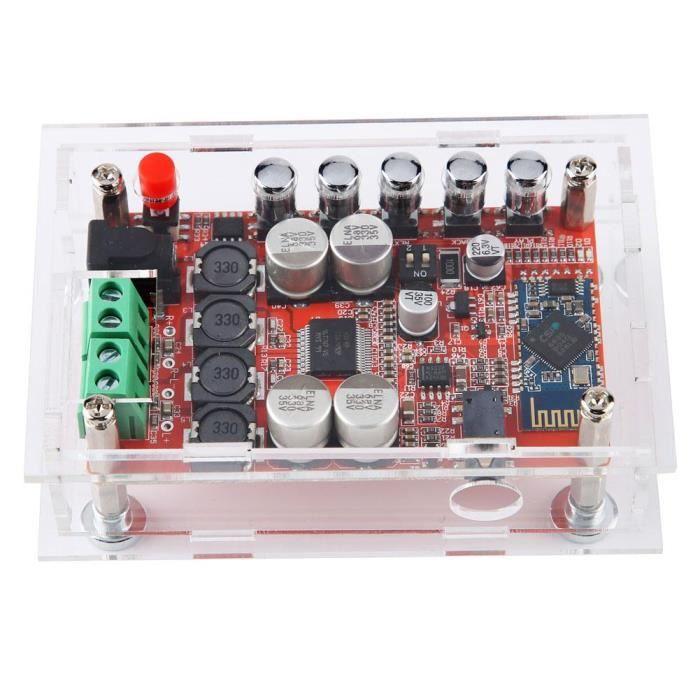 perfk Tda7492p Bluetooth Amplificateur De Puissance Audio Module Carte Num/érique