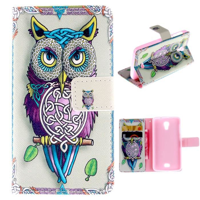 Wiko bloom coque etui housse pu portefeuille dessin anim - Bloom dessin anime ...