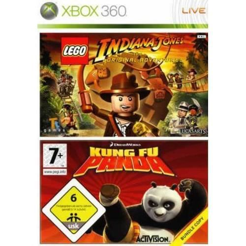 pack lego indiana jones kung fu panda achat vente jeux xbox 360 pack lego indiana jones. Black Bedroom Furniture Sets. Home Design Ideas
