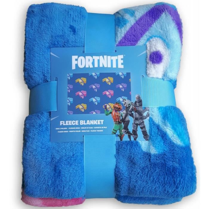 coperta in Pile Manta de Lana FTN-063B Epic Games Fortnite Fleece Blanket Couverture en Laine Polaire