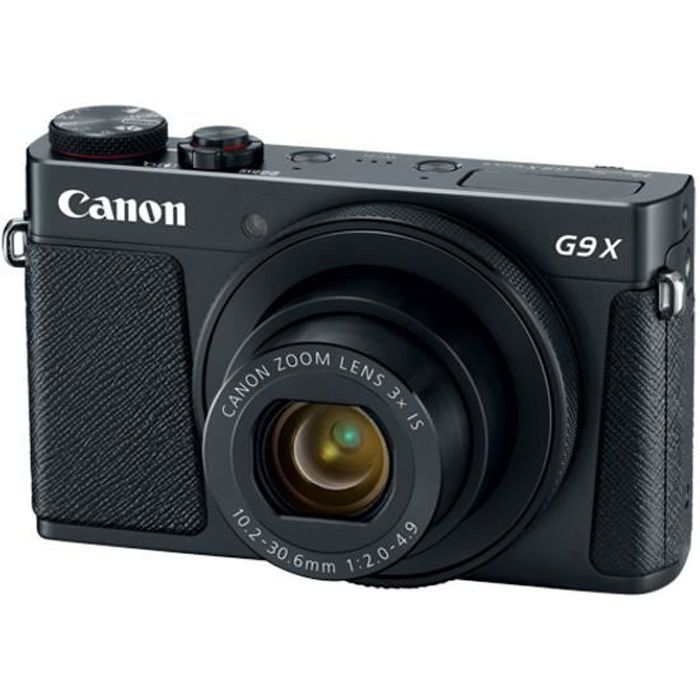 Photo de canon-powershot-g9-x-mark-ii-noir-appareil-photo-numerique-compact