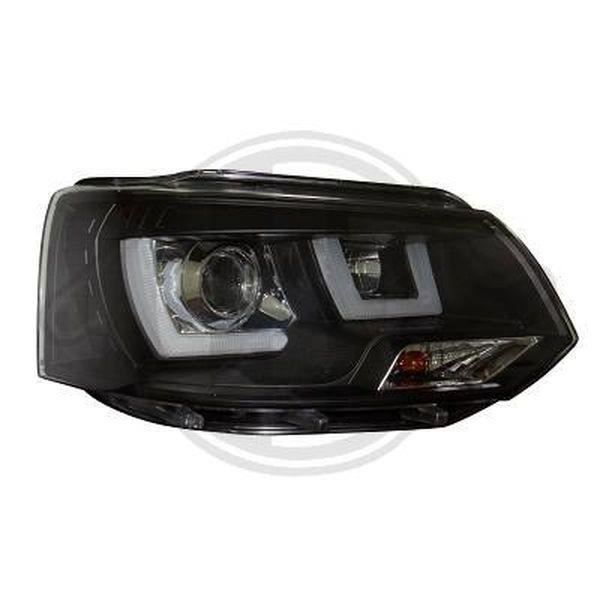 Shop Import Paire de Feux phares T5 03-09 Design Noir WA0
