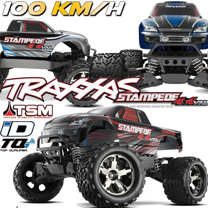 stampede 4x4 vxl rc monster truck voiture. Black Bedroom Furniture Sets. Home Design Ideas