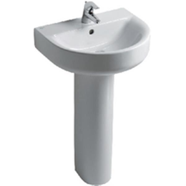 LAVABO - VASQUE Ideal standard Colonne CONNECT pour lavabo cube, b