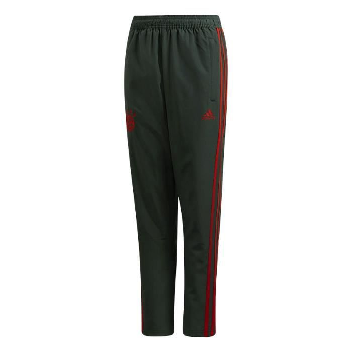 Pantalon de survêtement Adidas Bayern Munich Woven Pant Junior 18 19 coloris Grey Red