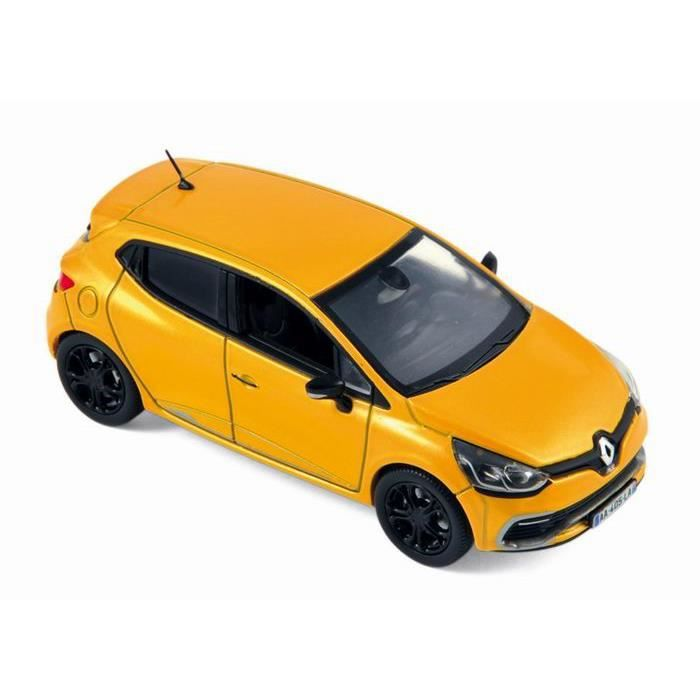 voiture renault clio 4 rs renault sport 2013 jaune norev 1 43 achat vente voiture camion. Black Bedroom Furniture Sets. Home Design Ideas