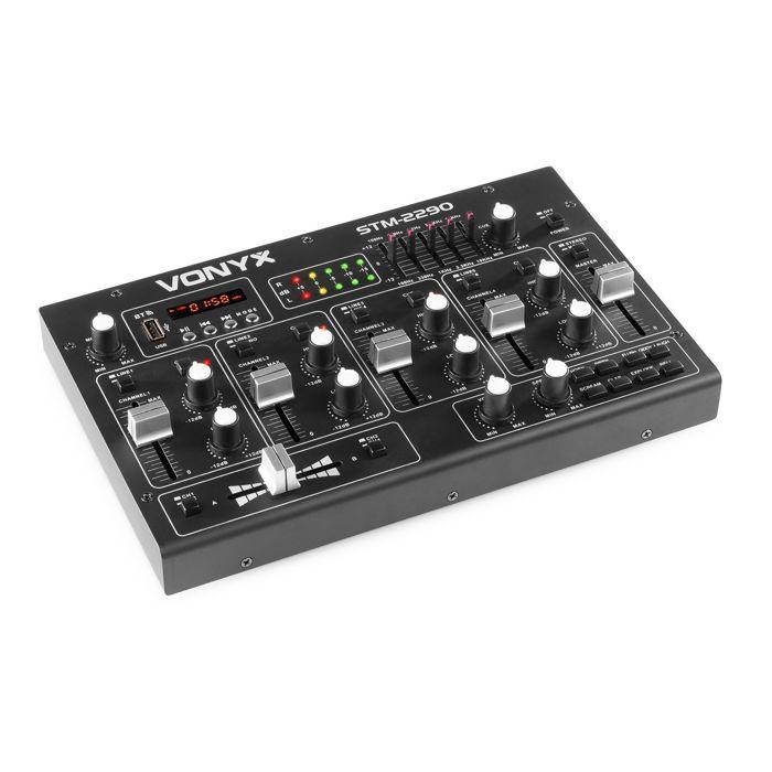 TABLE DE MIXAGE Skytec STM-2290 Table de mixage 8 canaux Bluetooth