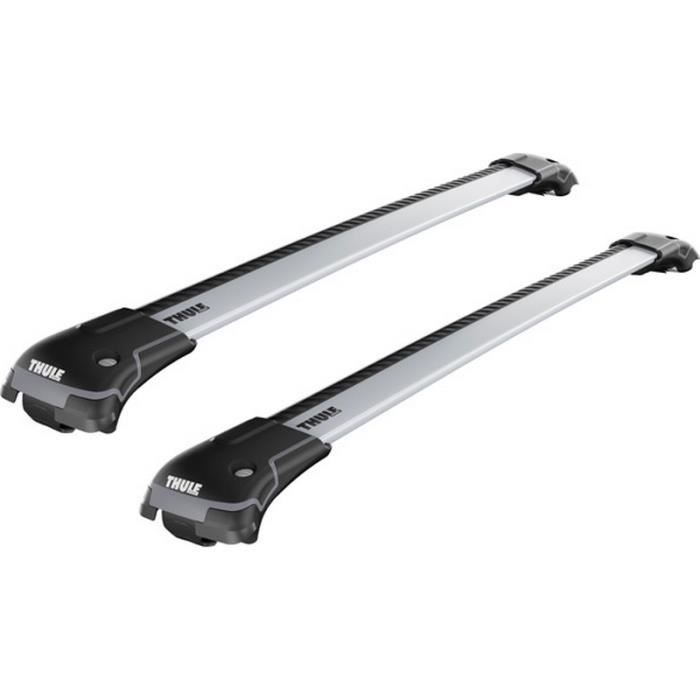 barres de toit thule wingbar edge 9581 pour renault clio iv grand tourer 5 portes break depuis. Black Bedroom Furniture Sets. Home Design Ideas