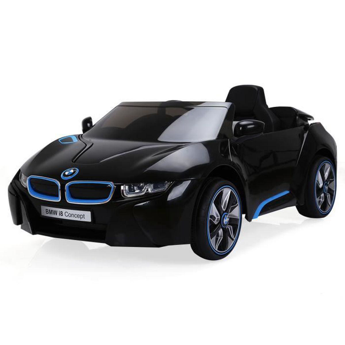 voiture v hicule lectrique bmw i8 pour enfant jouet mp3. Black Bedroom Furniture Sets. Home Design Ideas