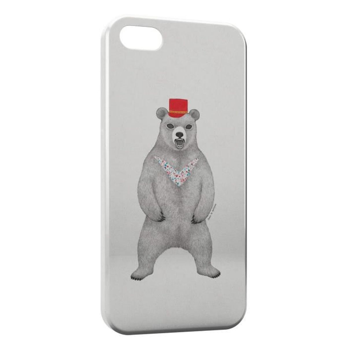 coque iphone 7 ours style design