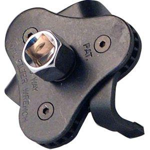 Sourcingmap en Acier 75/mm 14/fl/ûtes Cap Filtre /à Huile Cl/é de Voiture Socket logement Remover Outil