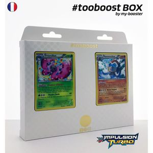 CARTE A COLLECTIONNER Coffret #tooboost PRISMILLON et MAMMOCHON - XY08 -